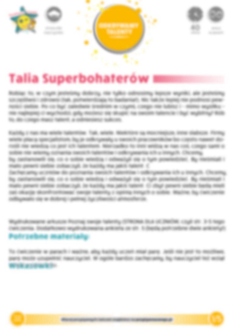 Talia Superbohaterów
